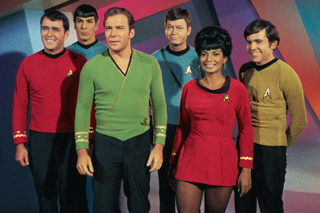 Original Cast of The USS Enterprise