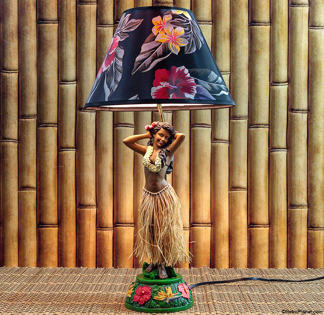 Hula Girl Lamp Leilani