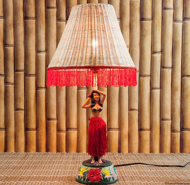 Singing Dancing Hula Lamp