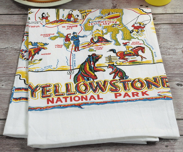 Yellowstone Park Dishtowel