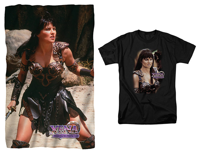 Xena throw and tee