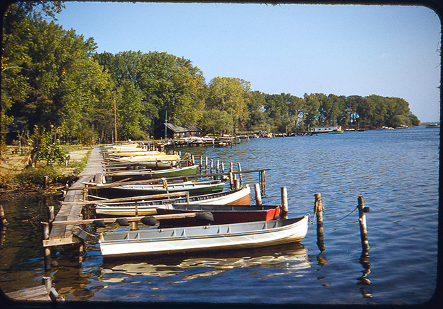 Boats in Erie, PA 1953