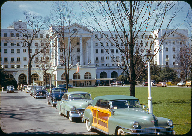 Greenbrier Hotel West Virginia 1951