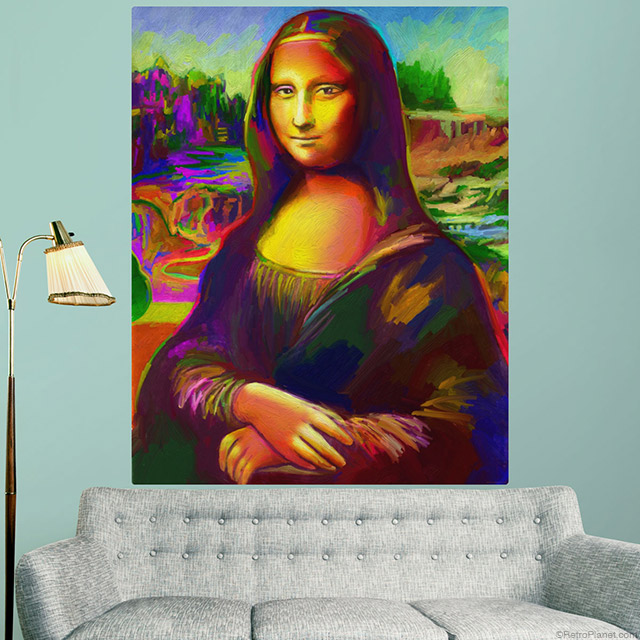 Mona Lisa Pop Art Wall Decal