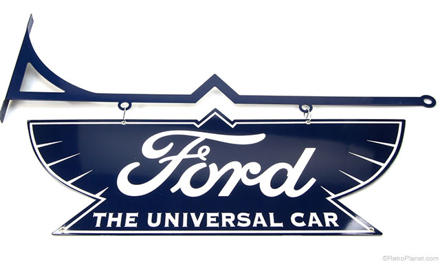 Hanging Ford Cars Sign