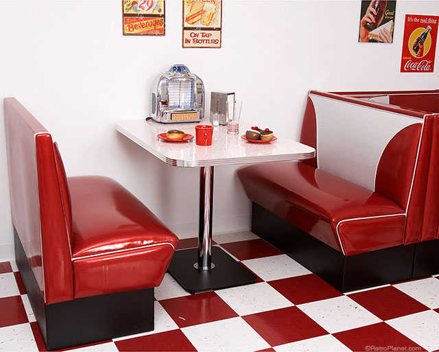 50s Diner Booth