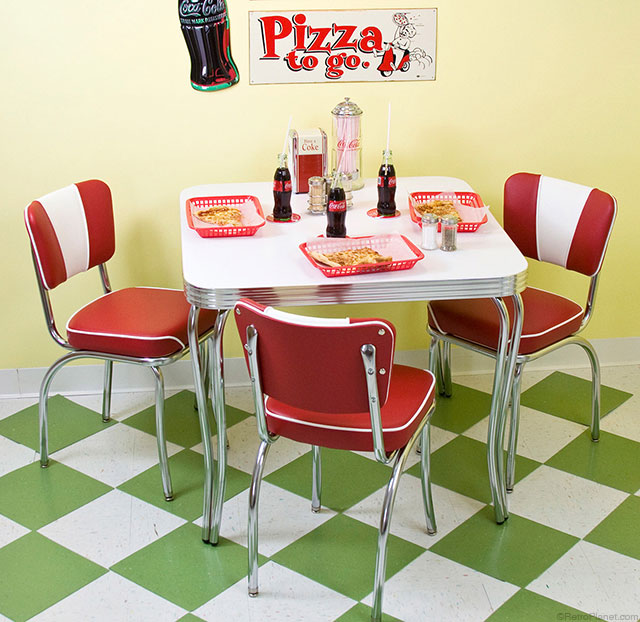 50s decorating tips from retro planet for 50s style kitchen table