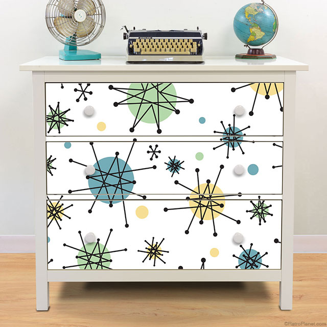 Atomic Starburst Decals