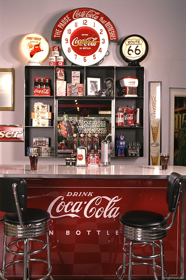 Decorating With Coca Cola Signs