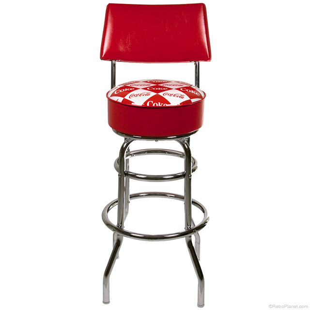 Coke Bar Stool