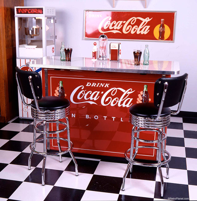 Coca Cola Soda Bar