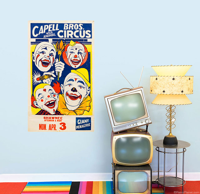 Capell Circus Poster