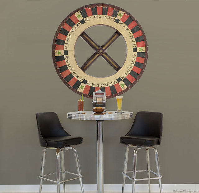 Roulette Wheel Wall Decal