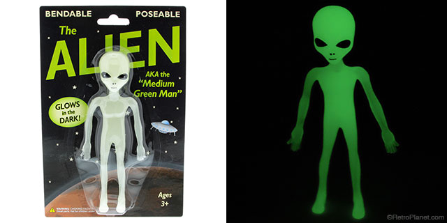 Alien Glow in the Dark Toy