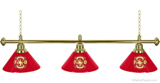 Fire Department Lamp