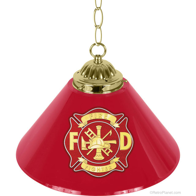 Fire Dept Lamp