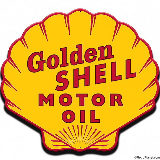 Golden Shell Motor Oil