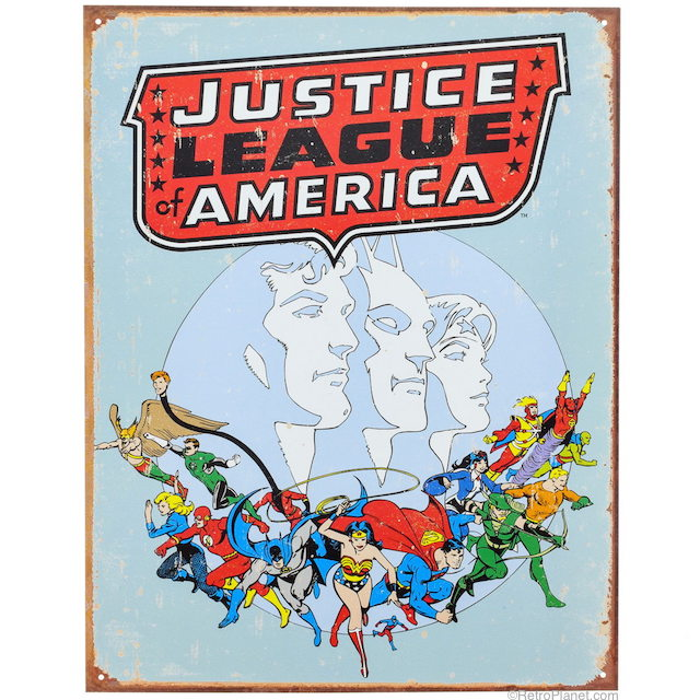 Justice League Sign