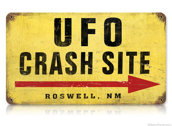 Roswell, New Mexico UFO Sign