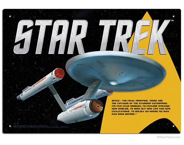 Star Trek Title Sequence TV Show Opening Sign