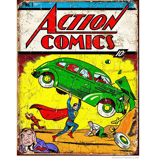Superman Action Comic