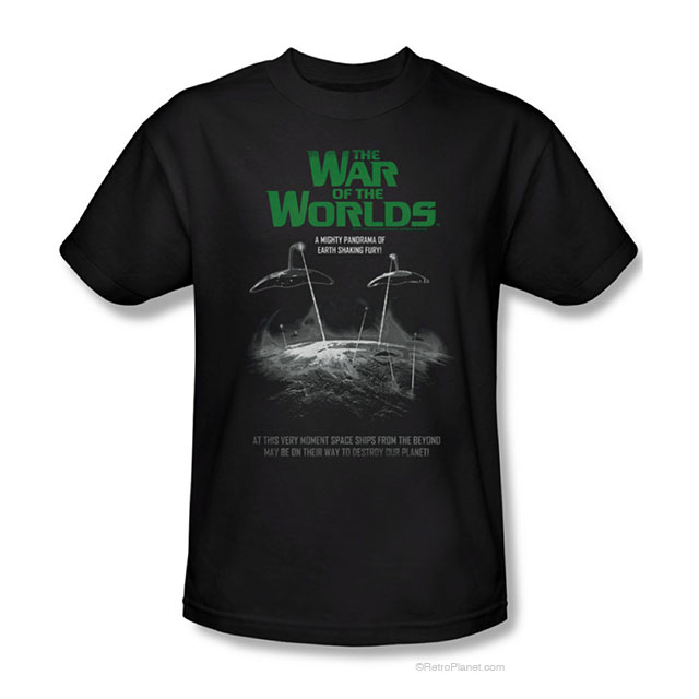 The War of Worlds Movie Tee