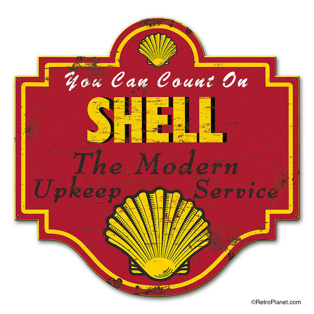 Shell Modern Upkeep