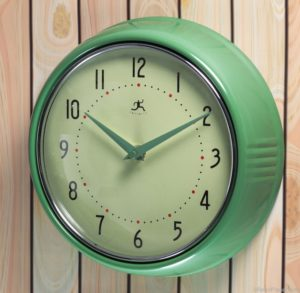 Mint Green Clock