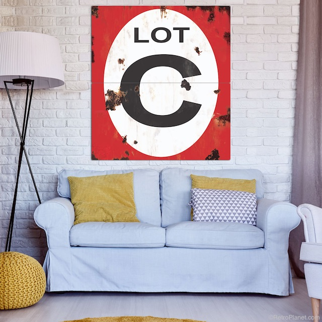Industrial Chic Sign