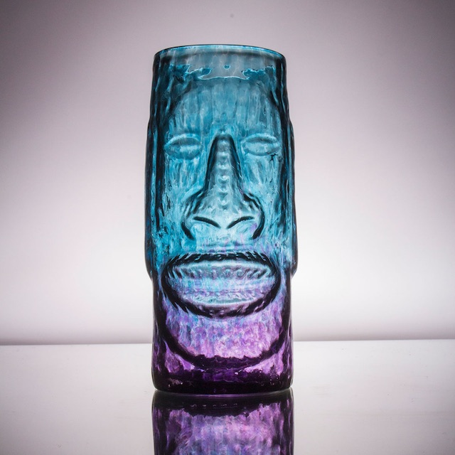 Moai Mug Purple