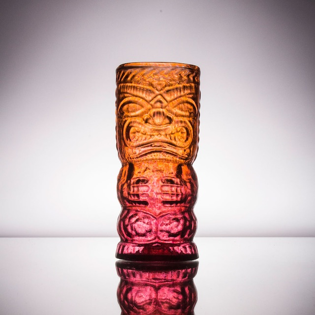 Red Tiki God