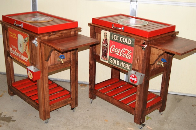 Bud Coke Coolers