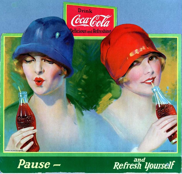 The Famous Coca-Cola Slogan: Pause and Refresh