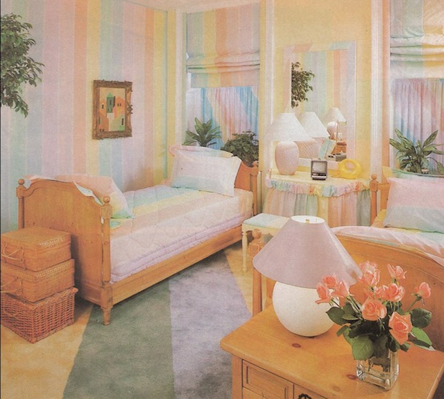 Elements Of 1980s Retro Decorating Style