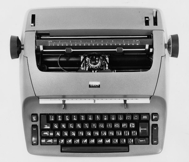 Top Typewriter