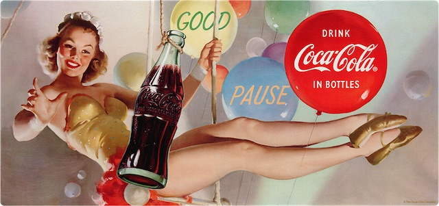 Coke Artists and the History of the Coca-Cola Girls