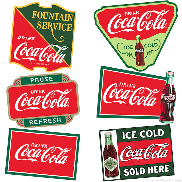 Coke Sticker Set
