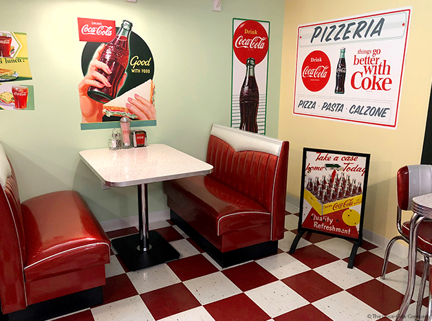 Wall Decals and Vintage Coke