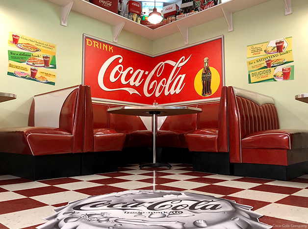 Coke Floor Decal and Wall Decals