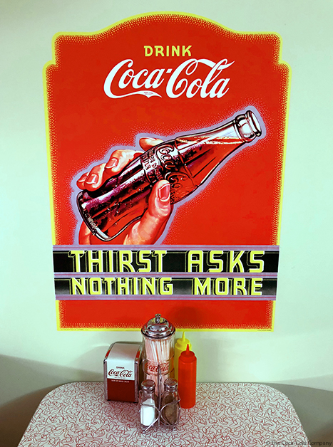 Coca-Cola Thirst Decal