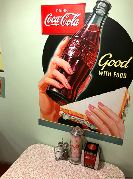 Good With Food Coke Decal