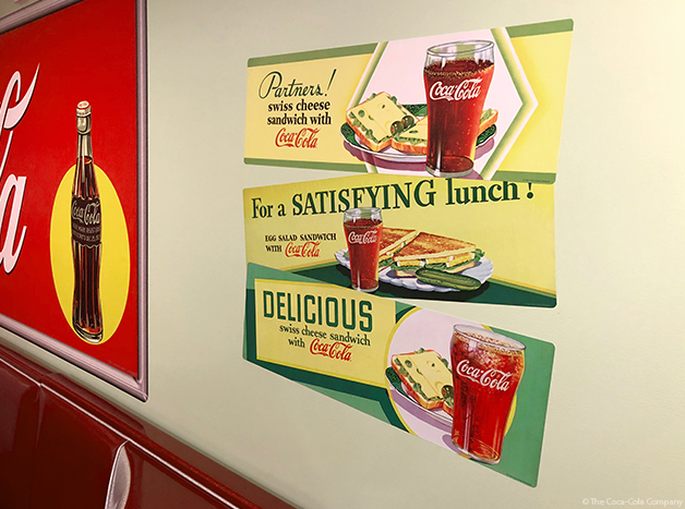 Lunch Themed Coke Decals