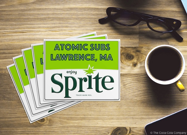 Sprite Personalized Sticker