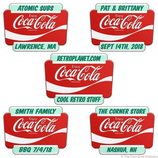 Coke Googie Stickers