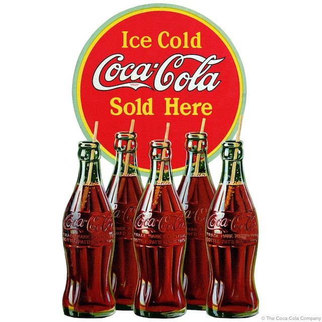 Ice Cold Coke Decal