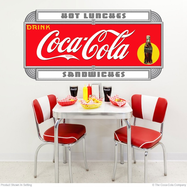 Wording Option Coke Decal