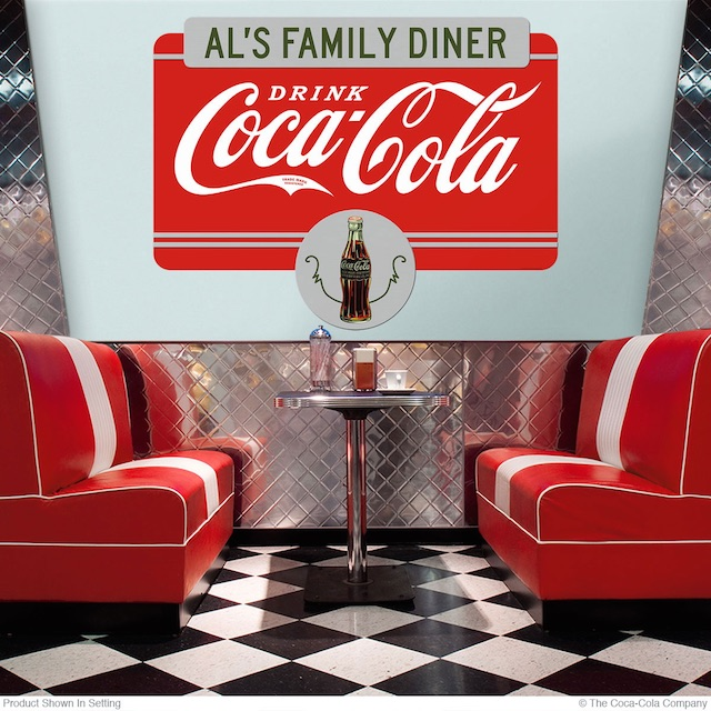 Personalized Coke Decal