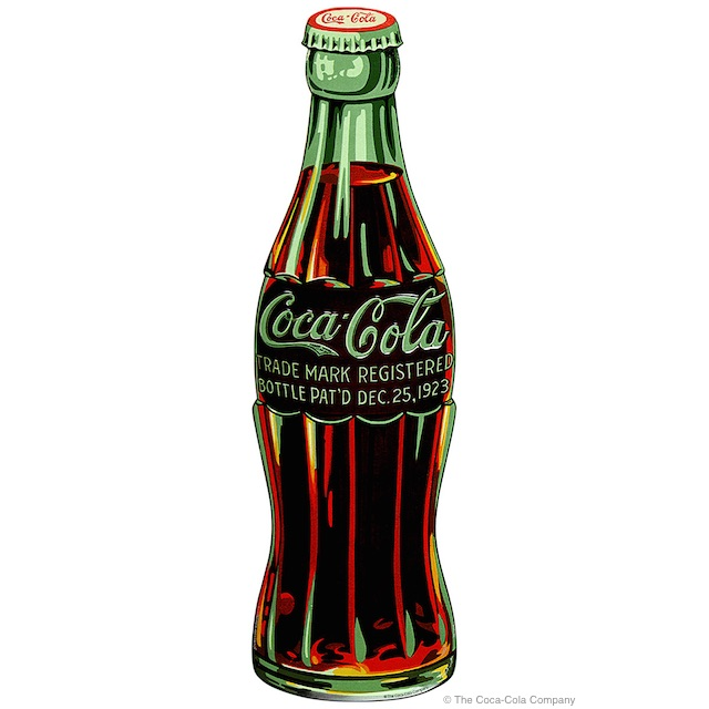 Coke Christmas Bottle